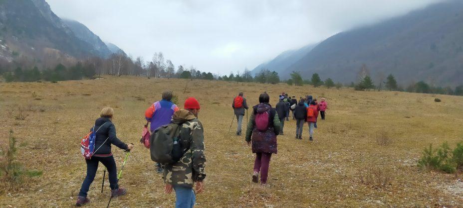 Walk along Valle Mea